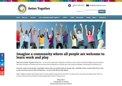 Better Together Website