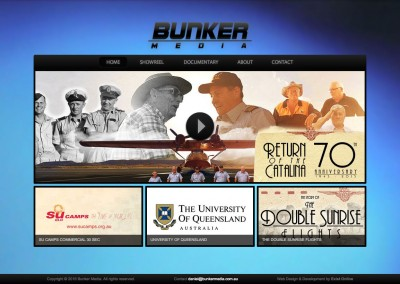 Bunker Media Website