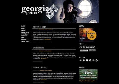 Georgia Potter Website
