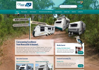 The Caravan Company Website