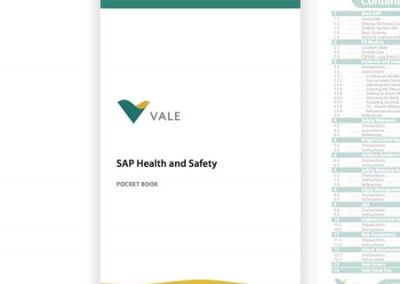 Vale Australia SAP Health & Safety Pocket Book